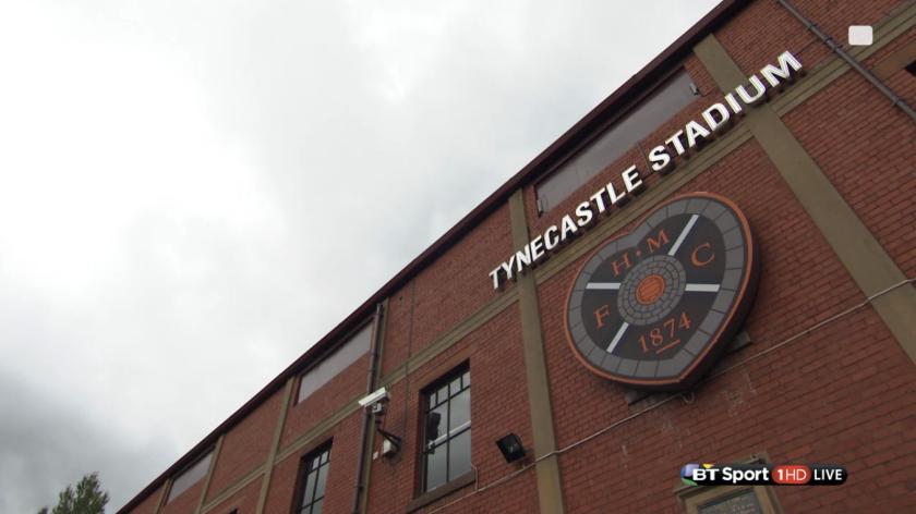 Tynecastle Stadium (Hearts FC - 2nd August 2015)