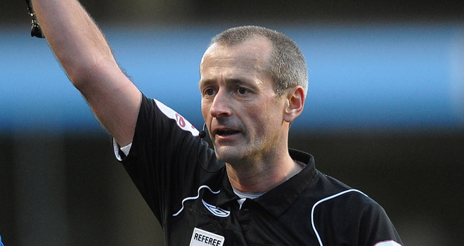 Whistler: Martin Atkinson will be the man in black for the latest Merseyside derby showdown (Picture from Zimbio.com)