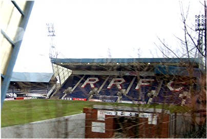Back in the big time: The Ramsdens Cup will be heading to the trophy cabinet at Stark's Park after a stunning cup final win for Raith Rovers over Rangers