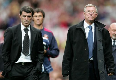 Battlegrounds: Keane and Ferguson have clashed both in the dressing room and the dugout (Picture by Kinny Cheng on Flickr)