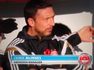 Aberdeen v Celtic - Derek McInnes