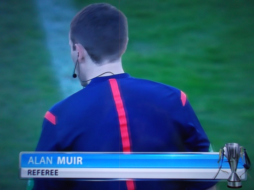 Alan Muir - Aberdeen v Celtic (Sun 9th Nov 2014)