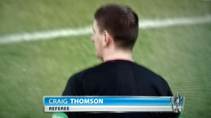 Familiar face: Thomson has officiated Hearts and Rangers in many Edinburgh and Old Firm derbies in times gone by