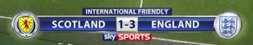 Scotland 1-3 England