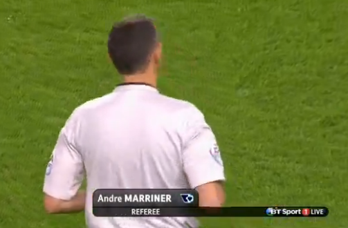 Andre Marriner (W Midlands) - Arsenal v Southampton (3rd Dec 2014)