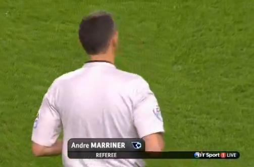 Andre Marriner (W Midlands) - Arsenal v Southampton (3rd Dec 2014)