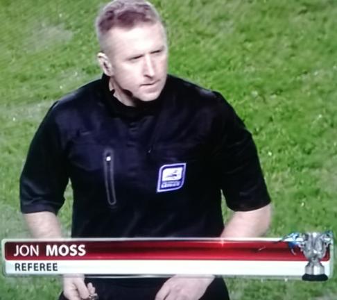 Jon Moss (West Yorkshire) Man City vs West Ham CO Cup 8th Jan 2014