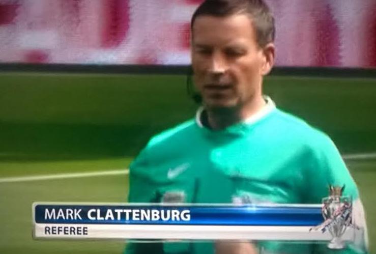 Mark Clattenburg - opening PL weekend 2014-15
