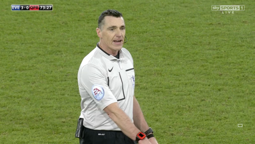Neil Swarbrick referee