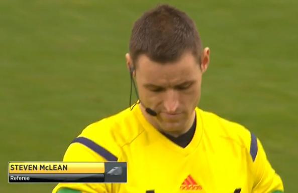 Steven McLean referee