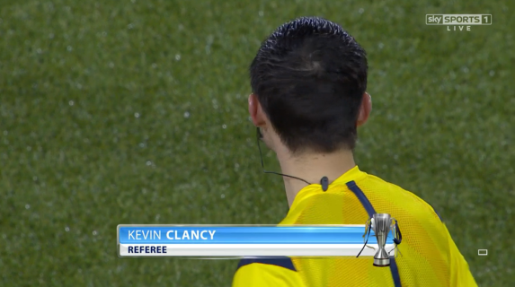 Kevin Clancy referee (Kilmarnock v Celtic - 5th Jan 2015)