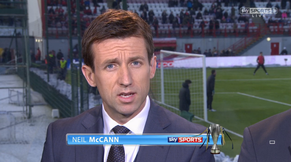 Neil McCann (Sky Sports pundit - Hamilton v Celtic 17th Jan 2015)