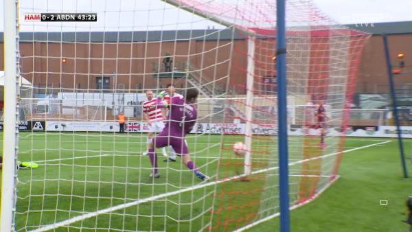 3rd goal for Aberdeen