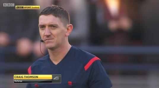 Craig Thomson referee