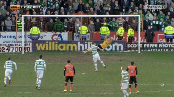 Griffiths penalty saved