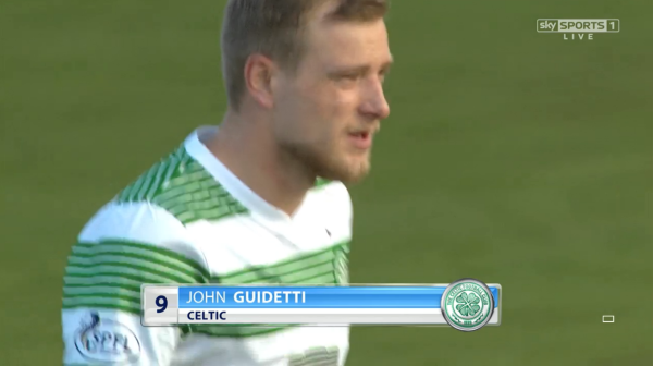 John Guidetti pre-match (v Ross County - 25th January 2015)