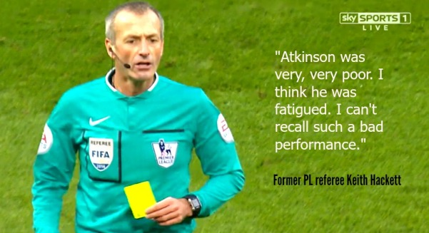 Martin Atkinson (Chelsea v Burnley graphic image)