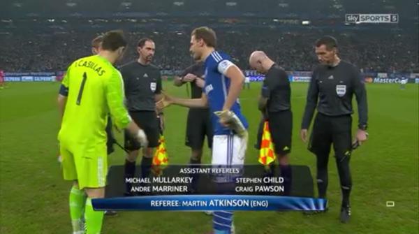 Martin Atkinson (Schalke v Real Madrid - 18th February 2015)