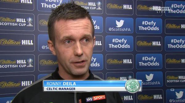Ronny Deila pre-match