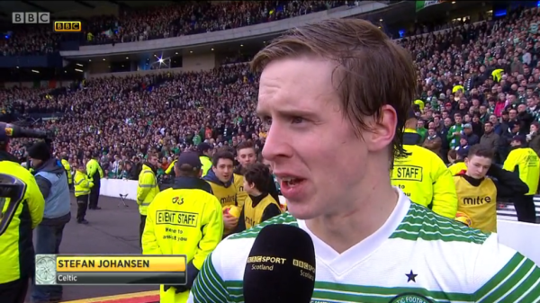 Stefan Johansen man of the match