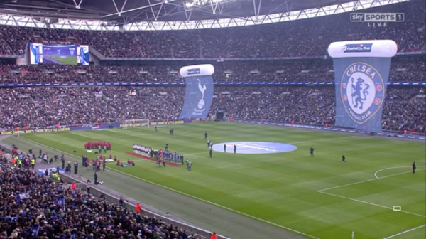Wembley overview (2015 Capital One Cup Final - 1st March)