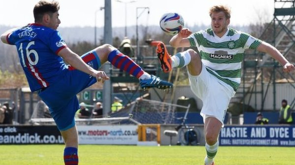 Inverness 1-1 Celtic - Greg Tansey and Stuart Armstrong (11th April 2015)