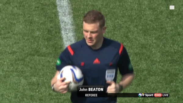 John Beaton referee