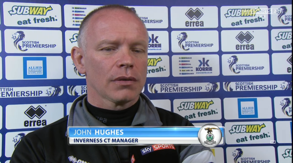 John Hughes pre-match (v Celtic - 11th April 2015)