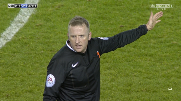 Jon Moss (Derby v Chelsea CO Cup QF - 16th December 2014)