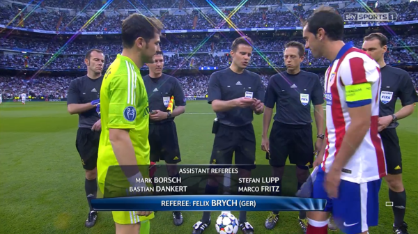 Felix Brych (Real Madrid v Atletico Madrid - 22nd April 2015)