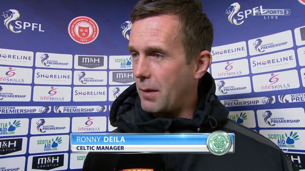 Ronny Deila pre-match (v Hamilton Accies - 17th January 2015)
