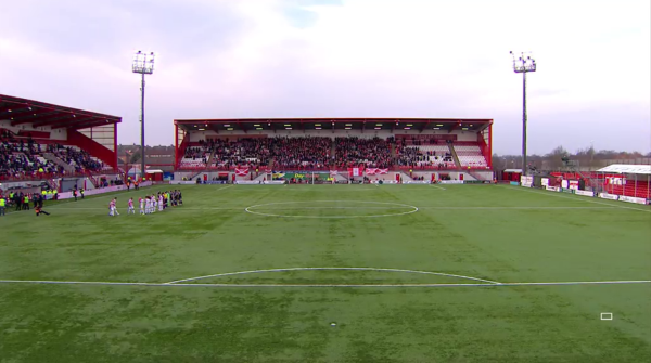 New Douglas Park (Hamilton v Aberdeen - 15th February 2015)