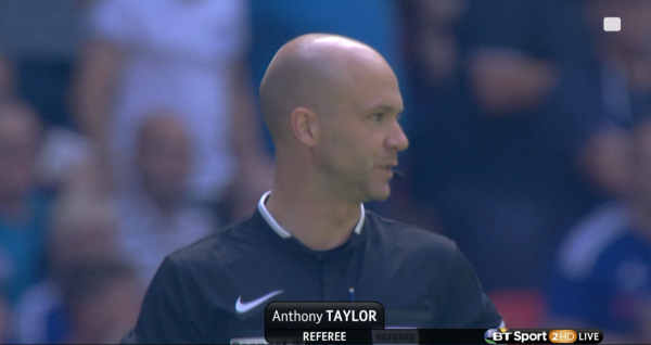 Anthony Taylor referee (Community Shield ARS v CHE - 2nd Aug 2015)