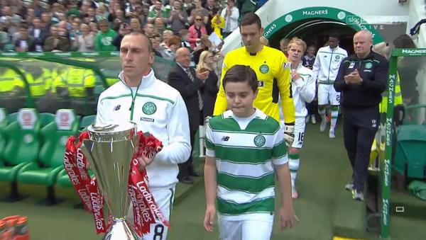Brown carries trophy
