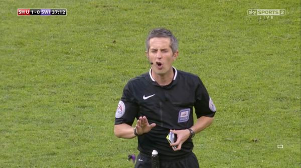 Darren Bond (Sheffield Utd v Swindon POs - 7th May 2015)