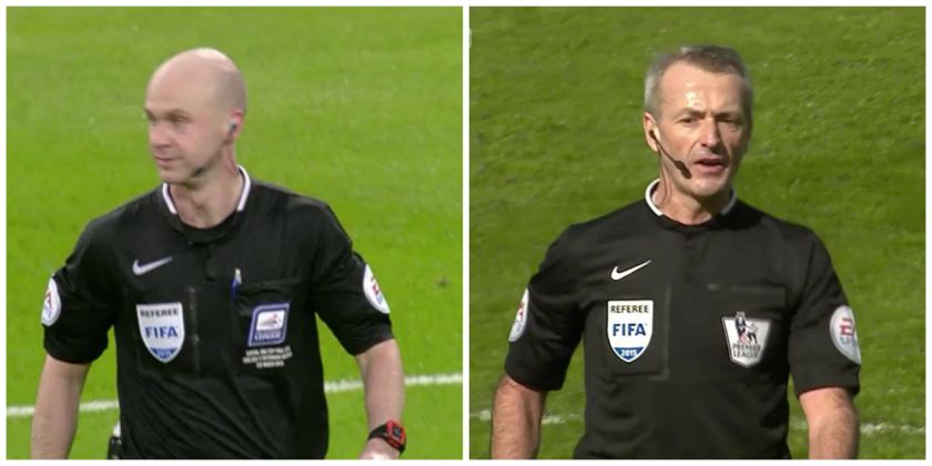 Martin Atkinson and Anthony Taylor collage