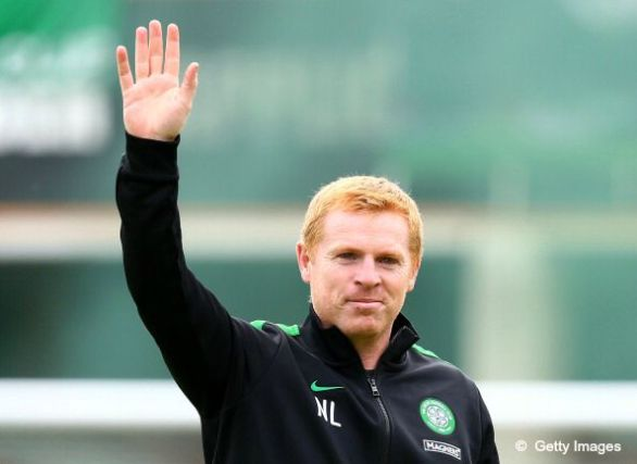 Neil Lennon as Celtic manager in pre-season (20th July 2013)