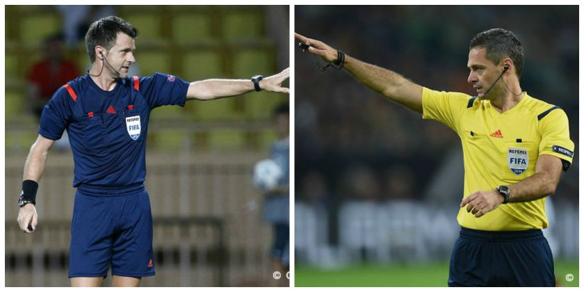 Nicola Rizzoli and Damir Skomina