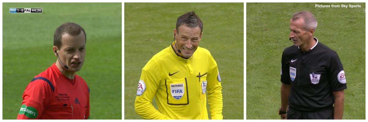 Three British referees going to Euro2016