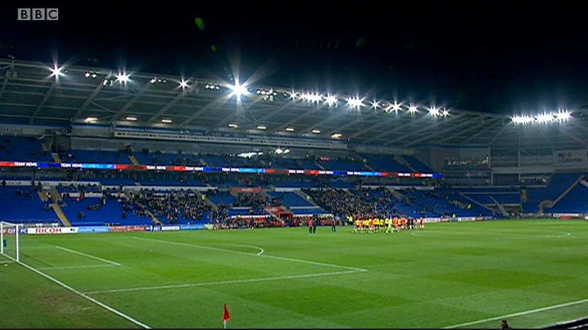 Cardiff City Stadium (Cardiff v Colchester FA Cup 3rd round - 4th Jan 2015)