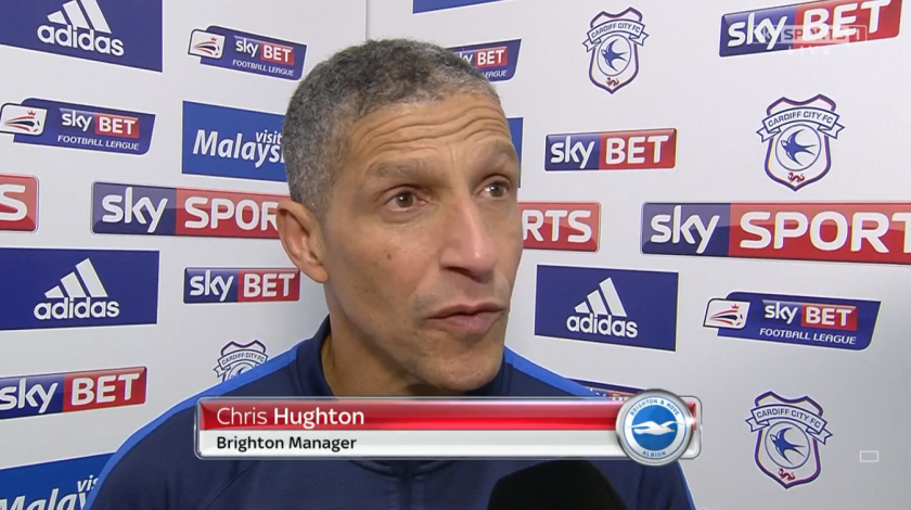 Chris Hughton pre-match (v Cardiff - 20th Feb 2016)