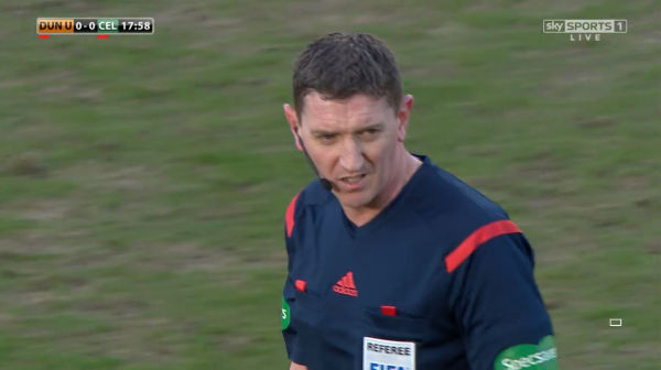 Craig Thomson (Dundee Utd v Celtic Scottish Cup - 8th Mar 15)