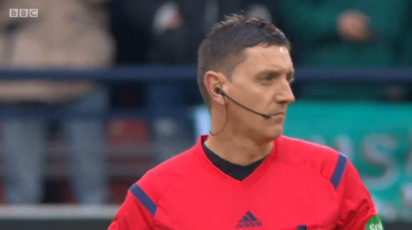 Craig Thomson (League Cup semi Ross County v Celtic - 31st Jan 2016)