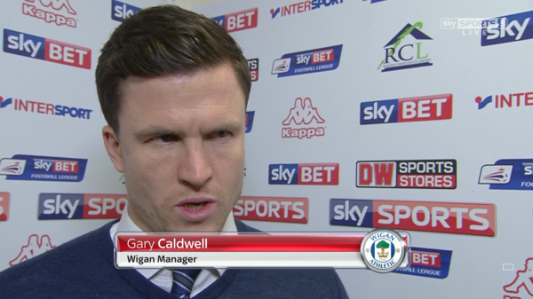 Gary Caldwell pre-match (v Gillingham - 7th Jan 2016)
