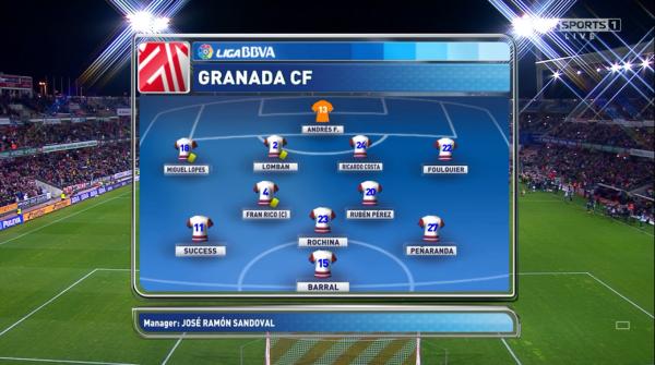 Granada XI v Real Madrid