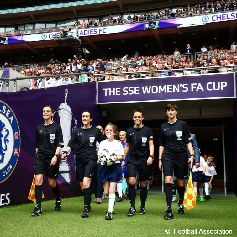 Female referees for 2015 Women's FA Cup Final