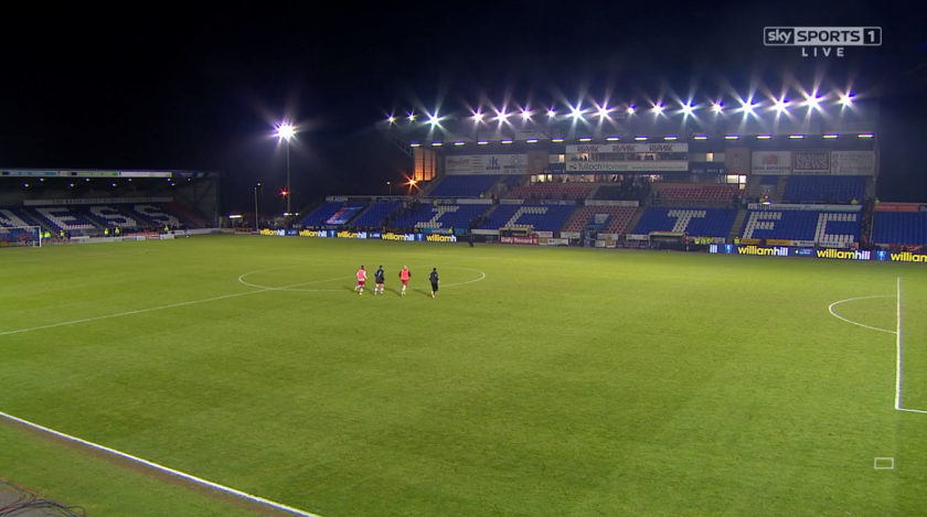 ICT Stadium (v Stirling Albion 4th round replay - 19th Jan 2016)