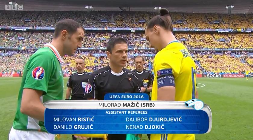 Milorad Mazic referee