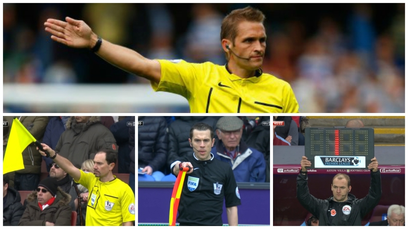 Community Shield 2016 match officials