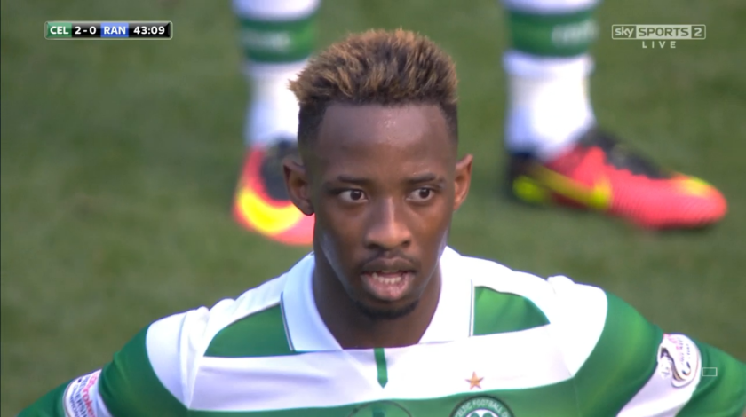 moussa-dembele-looks-on-after-goal-v-rangers-10th-sept-2016